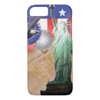 Amerikanische Flagge iPhone 7 Fall iPhone 8/7 Hülle
