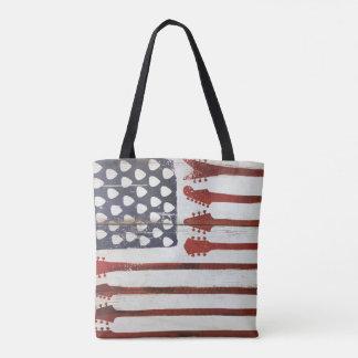 amerikanische Flagge patriotische Tasche