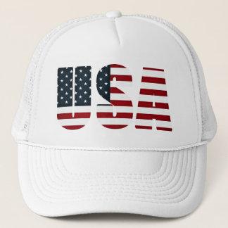 amerikanische Flagge - USA Truckerkappe