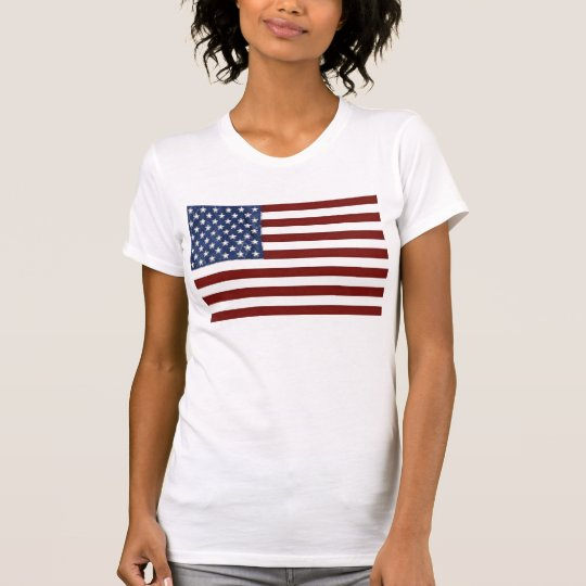 Amerikanische Flagge Wahl-T - Shirt