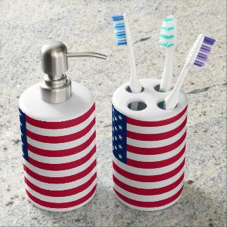 Amerikanische Flagge Zahnputzbecher