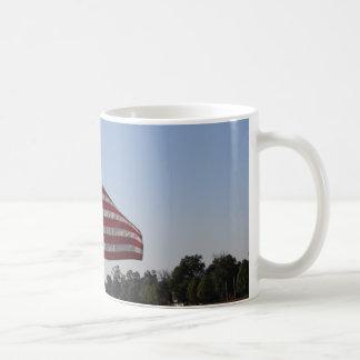 Amerikanische Flaggen-Tasse Kaffeetasse