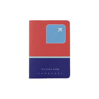 amerikanische Flugzeugverkehr-Passabdeckung mit Passhülle