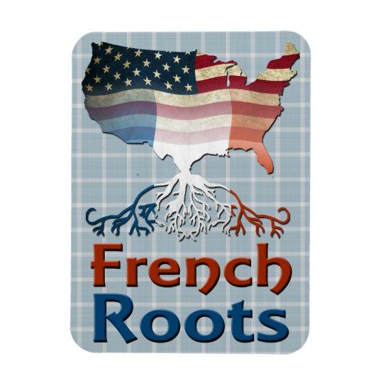 Amerikanische Franzosen wurzeln Magneten Magnet