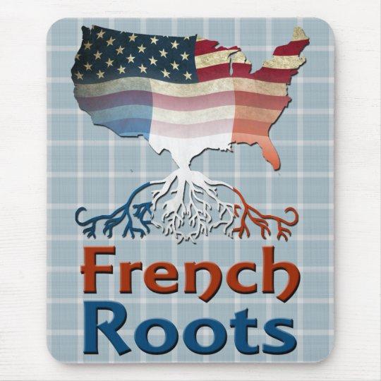 Amerikanische Franzosen wurzeln Mousemat Mauspads