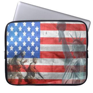 Amerikanische Freiheit Laptop Sleeve