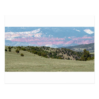 Amerikanische Landschaft entsteint Postkarte