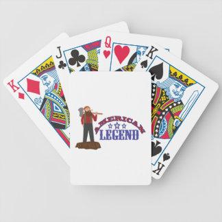 Amerikanische Legende Spielkarten