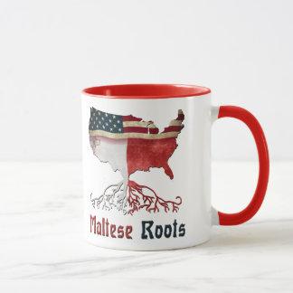 Amerikanische maltesische Wurzeln Tasse