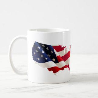 Amerikanische patriotische Kaffee-Tasse Tasse