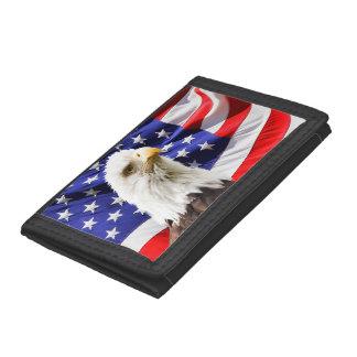 Amerikanische Weißkopfseeadler-Flagge