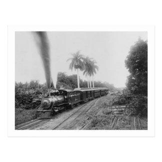 Amerikanische zentrale Eisenbahn Pans in Guatemala Postkarte