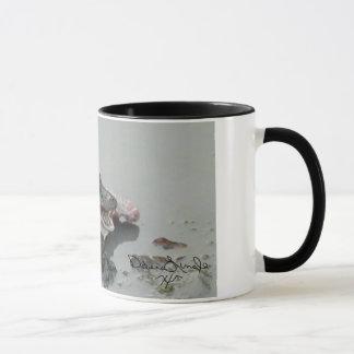 Amerikanischer Alligator, Tasse essend