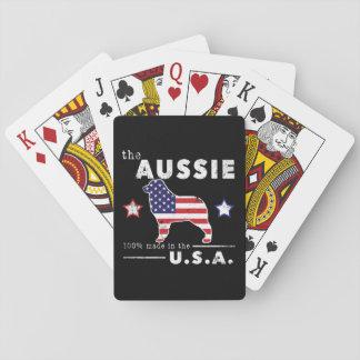 Amerikanischer Australier Spielkarten