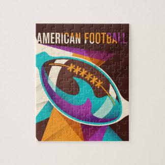 Amerikanischer Fußball-Sport-Ball abstrakt