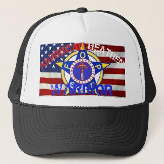 Amerikanischer heidnischer Krieger--Polizei Truckerkappe