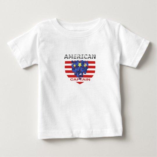 Amerikanischer Kapitän Kid XN8 Baby T-shirt