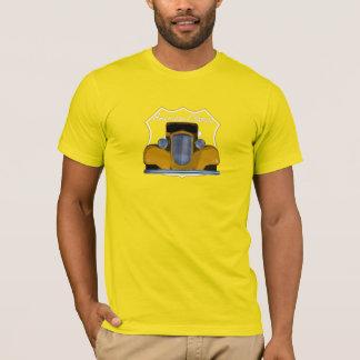 Amerikanischer klassischer Hotrod Weg 66 T-Shirt