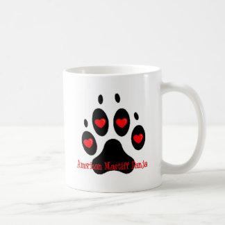 Amerikanischer Mastiff Panja Kaffeetasse