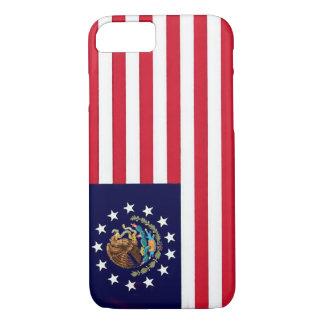 Amerikanischer mexikanische Flagge iPhone 7 Fall iPhone 8/7 Hülle