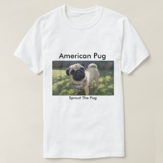Amerikanischer Mops T-Shirt