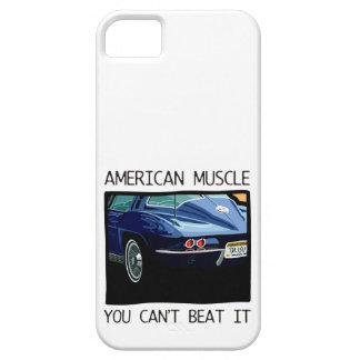 Amerikanischer Muskelauto, klassischer und Barely There iPhone 5 Hülle