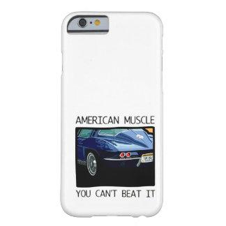 Amerikanischer Muskelauto, klassischer und Barely There iPhone 6 Hülle