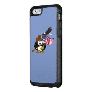 Amerikanischer patriotischer Pinguin-Entwurf mit OtterBox iPhone 6/6s Hülle