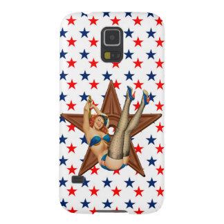 Amerikanischer Pinupstern Samsung Galaxy S5 Hülle