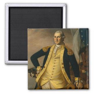 Amerikanischer Präsident: George Washington Quadratischer Magnet