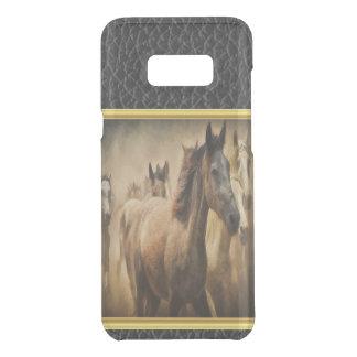 Amerikanischer Quarterhorse mit einem Get Uncommon Samsung Galaxy S8 Plus Hülle