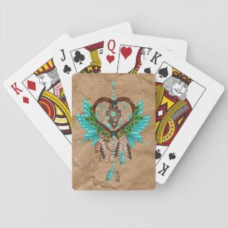 Amerikanischer Ureinwohner Dreamcatcher Spielkarten