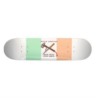 Amerikanischer Ureinwohner/Iren 18,7 Cm Mini Skateboard Deck