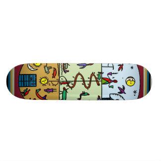 Amerikanischer Ureinwohnershaman-Skateboard Skateboard