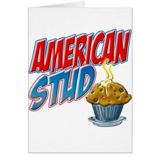 Amerikanisches Bolzen-Muffin Karte