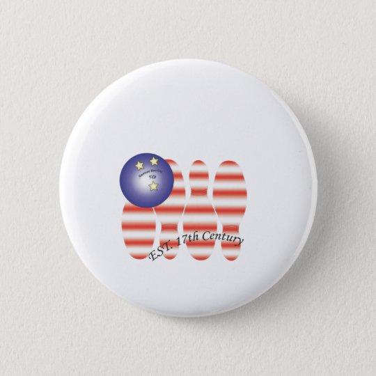 Amerikanisches bowling.ai runder button 5,1 cm