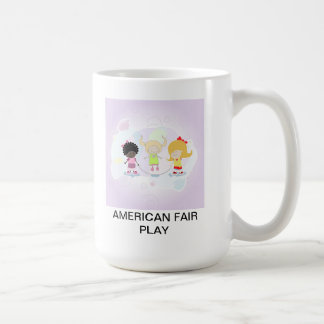 Amerikanisches ehrliches Spiel Teetassen