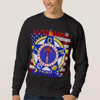 Amerikanisches heidnisches--Polizei Sweatshirt