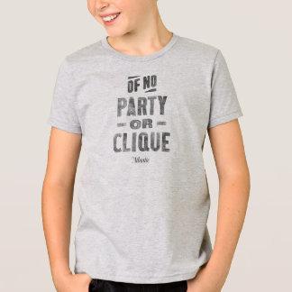 Amerikanisches KleiderShirt im Grau - Kind T-Shirt