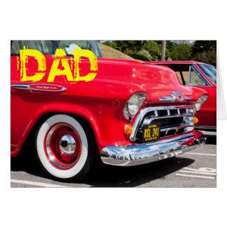 Amerikanisches LKW-Geburtstags-Auto Grußkarte
