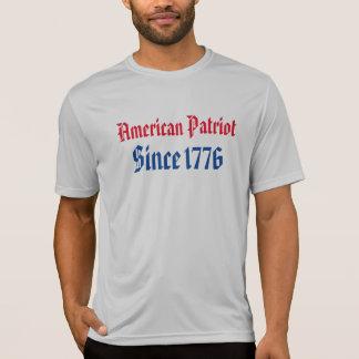 Amerikanisches Patriotworkout-Shirt T-Shirt