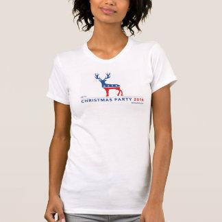 """Amerikanisches T-Stück """"der WeihnachtsParty"""" T-Shirt"""