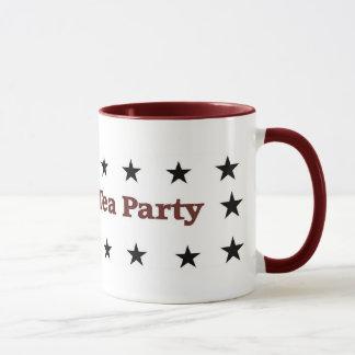 Amerikanisches Tee-Party-politischer Gang Tasse