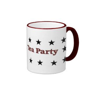Amerikanisches Tee-Party-politischer Gang Ringer Tasse
