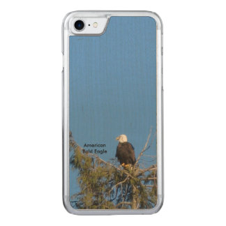 Amerikanisches Weißkopfseeadler iPhone 6 Carved iPhone 7 Hülle