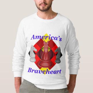 Amerikas Braveheart - Kobalt Sweatshirt