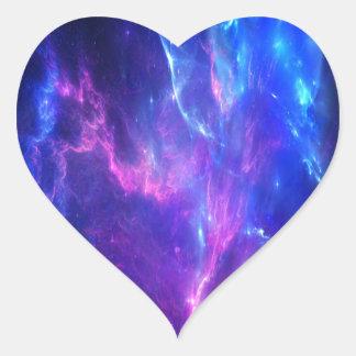 Amethyst Träume Herz Sticker