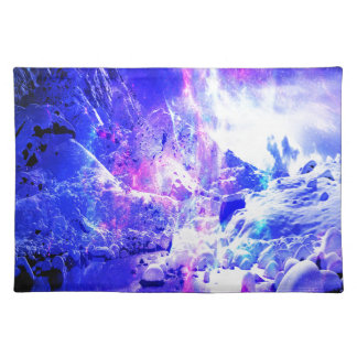 Amethyst Weihnachten-Nachtträume Stofftischset