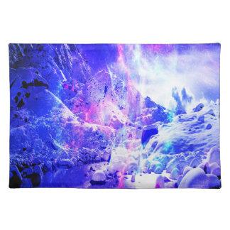 Amethyst Weihnachten-Nachtträume Tischset