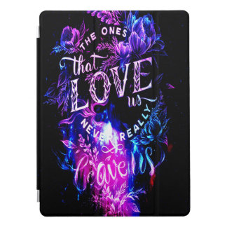 Amethyst Winter-Himmel die diese Liebe wir iPad Pro Hülle